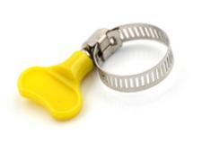 qualité parfaite mode de vente chaude meilleur Collier de serrage papillon diamètre 10 à 16mm